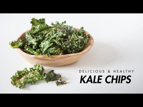 Video Kale Chips Recipe