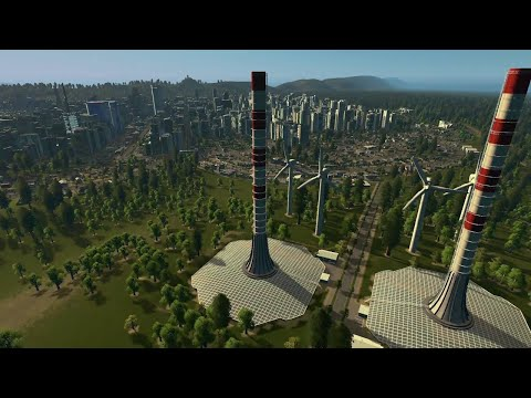 Cities: Skylines - Green Cities Console Release Trailer