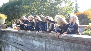 WWMS Cheer Picture Day 2010 - 2011