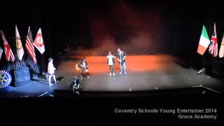 preview picture of video 'Grace Academy - Coventry Schools Young Entertainer 2014'