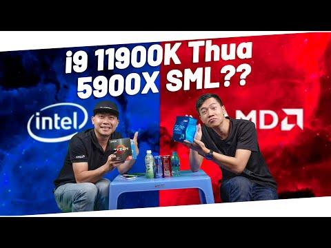 Cpu intel 11 không đủ sức vả AMD 5900X ??? Hé lộ kèo ép xung 11900k
