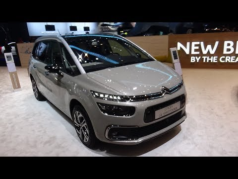 Citroen C4 Grand Spacetourer - Exterior and Interior - Geneva Motor Show
