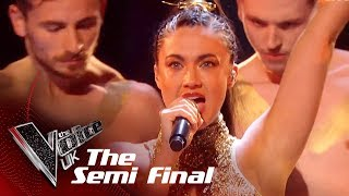Bethzienna's 'You Don't Own Me' | The Semi Finals | The Voice UK 2019