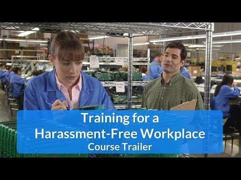 Sexual Harassment Training for a Harassment Free ... - YouTube
