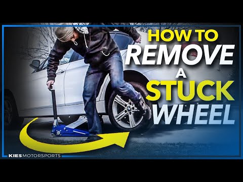How to Remove a Stuck Wheel Without a Hammer or Sledge on ANY CAR