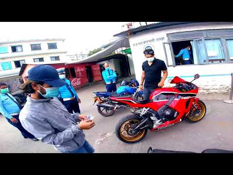 My bike caught because of sound modification|Police eyes on CBR 600rr|Strict checking in Nepal🇳🇵