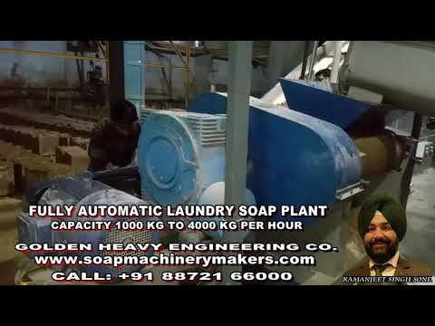 Automatic Soap Making Plants