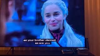 Game of Thrones Season 8, Episode 1 with Leslie Jones