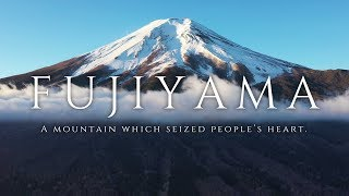 FUJIYAMA - A mountain which seized people's heart / 空撮ドローン 富士山