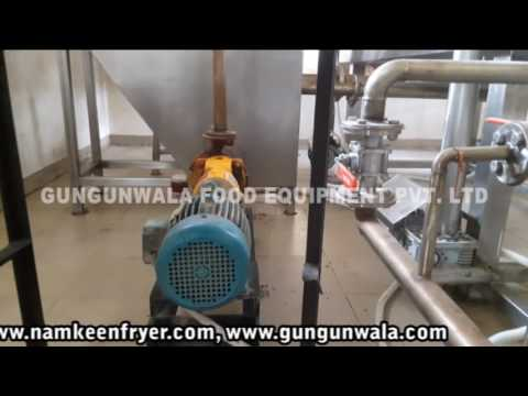 Automatic Namkeen Making Machine With Wooden Boiler