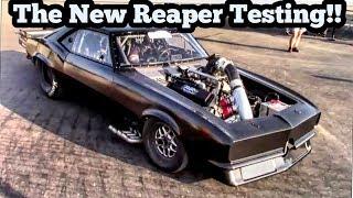 Street Outlaws Reaper testing his new combo at Lapeer Michigan