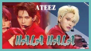 [HOT] ATEEZ - HALA HALA, 에이티즈 - HALA HALA Show Music core 20190302