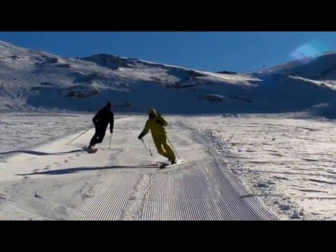 TELEMARK SKIING – (Be water my friend)