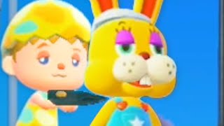 Animal Crossing but its Bunny Day