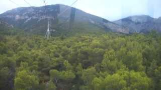 Going Up At Casino Parnitha With Cable Car / ανεβαίνοντας στο Καζίνο της Πάρνηθας με το τελεφερίκ