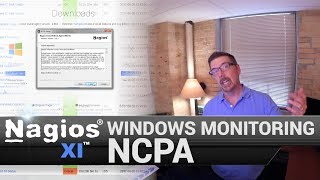 NCPA Windows Monitoring (Nagios Cross Platform Agent)