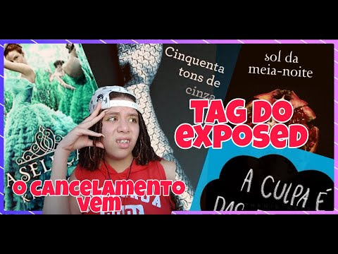 TAG do EXPOSED + SORTEIO | BookVersoo
