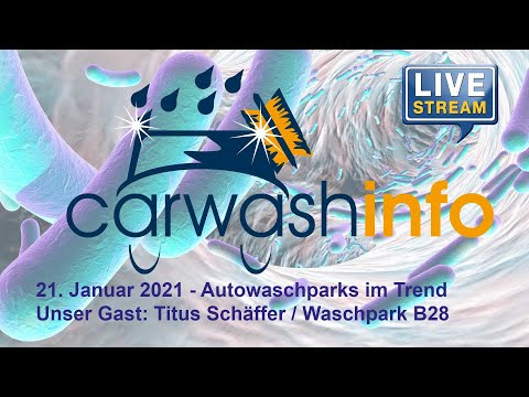 carwashinfo LIVE Folge 35