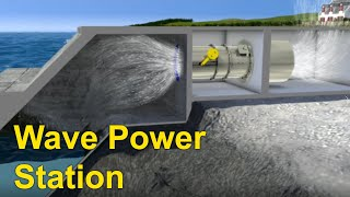 Wave Power - Station