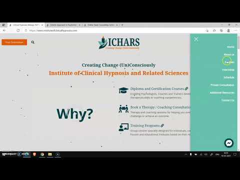 How to register for ICHARS Courses? - YouTube