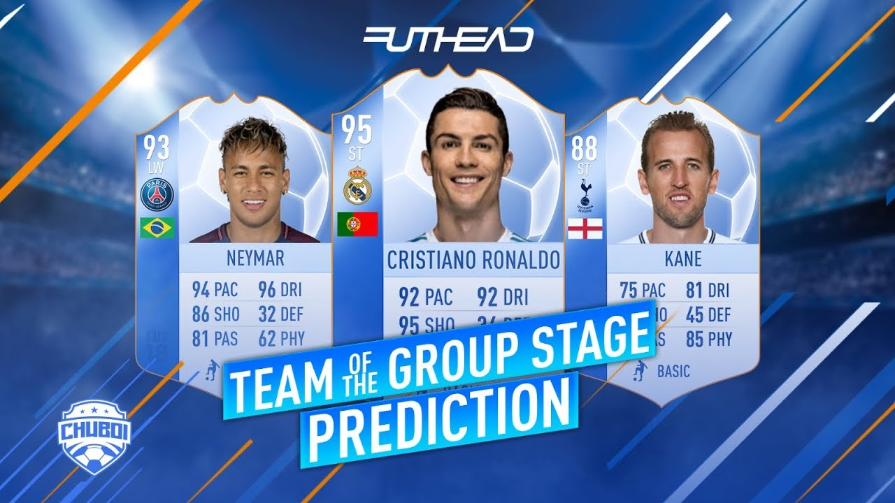 FUT 18 Team of the Group Stage Predictions - Futhead News