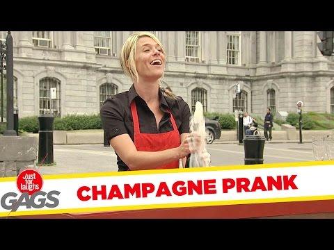 שמפניה קטלנית - מתיחה נהדרת!