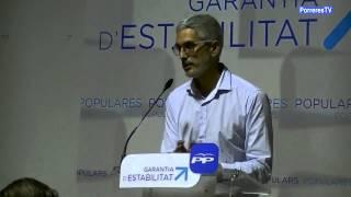 preview picture of video 'Presentació candidat del PP a Porreres'