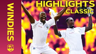 Holder's 202* and England All Out For 77! | Classic Match Highlights | Windies v England 2019