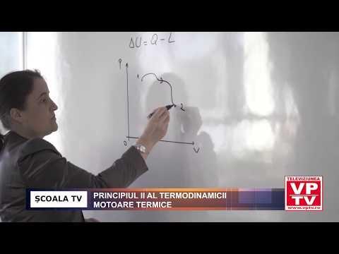 Principiul II al termodinamicii. Motoare termice