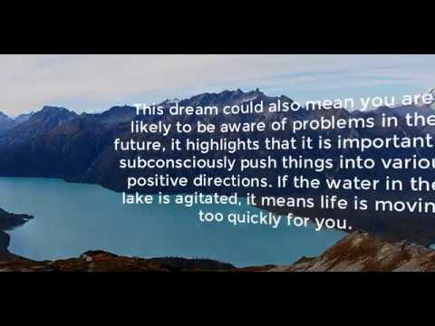 Lake Dream Meaning