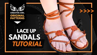 How To Make Leather Sandals