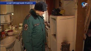 Сотрудники МЧС проверили дома с печным отоплением в Чечулине
