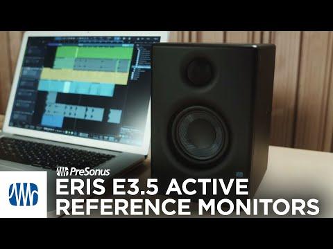 PreSonus Eris E3.5 Active Media Reference Monitors