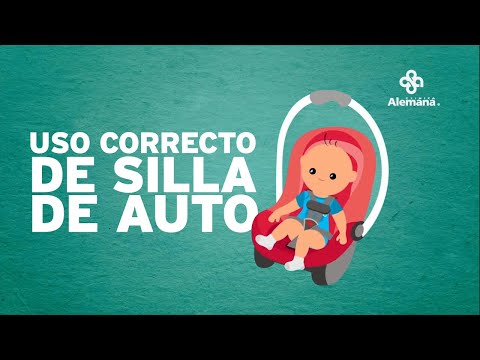 Uso correcto de la silla de auto para bebés
