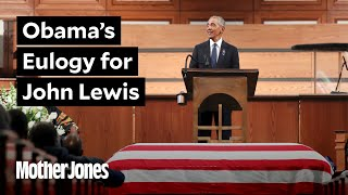 Obama Delivers the Eulogy John Lewis Deserves thumbnail