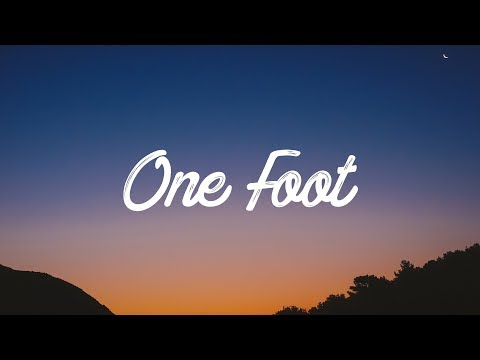 WALK THE MOON - One Foot (Lyrics / Lyrics Video)