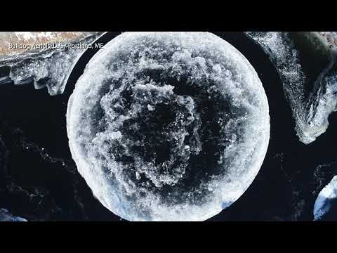 Das Eis-UFO