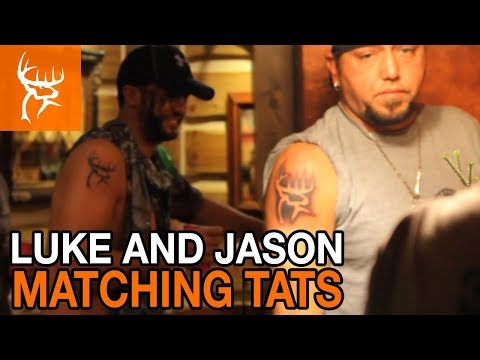 LUKE BRYAN JASON ALDEAN MATCHING TATTOOS | Buck Commander