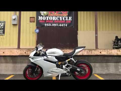 2017 Ducati Superbike 959 Panigale (US version) in Auburn, Washington - Video 1