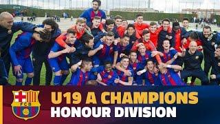 [HIGHLIGHTS] FUTBOL (Juvenil A): FC Barcelona – Cornellà (1-1)