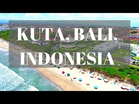 1ST TIME IN KUTA BALI INDONESIA!