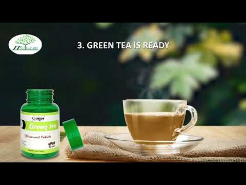Slimjim Green Tea With Garcinia Cambogia For Weight Loss