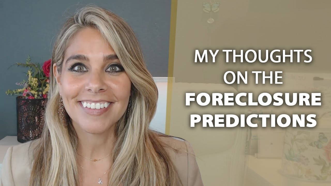 Q: Will We See a Wave of Foreclosures Hit the Market?