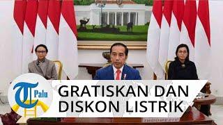 Kabar Baik, Jokowi Gratiskan Tarif Listrik 450 VA dan Diskon 50% untuk 900 VA Selama 3 Bulan