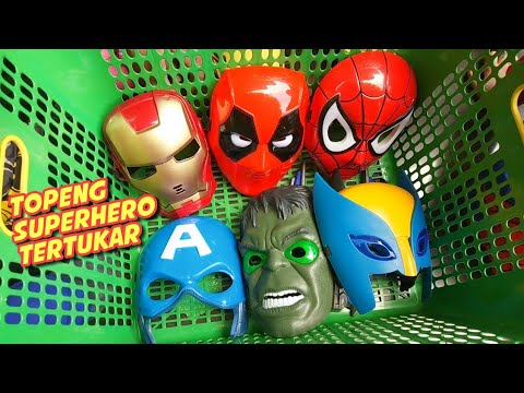 Parodi Superhero Salah Topeng 😀 Superheroes Wrong Masks