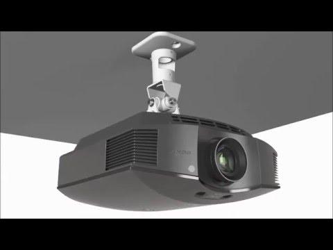 Sopar Srl - Staffa a soffitto per videoproiettori altezza fissa 22 cm.