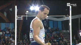 Liévin 2018 : Finale Saut à la Perche M (Renaud Lavillenie avec 5,83 m)