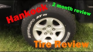 Hankook Dynapro ATM Tire Review and Demo ---- Hankook Tires ----