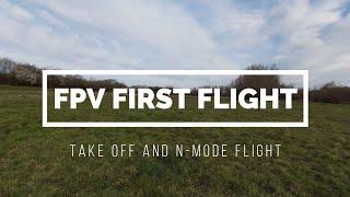DJI FPV First Flight – My first ever FPV drone flight