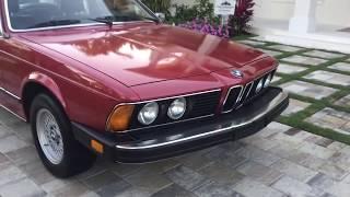 BMW 6 klasė (E24) 1976 - 1989